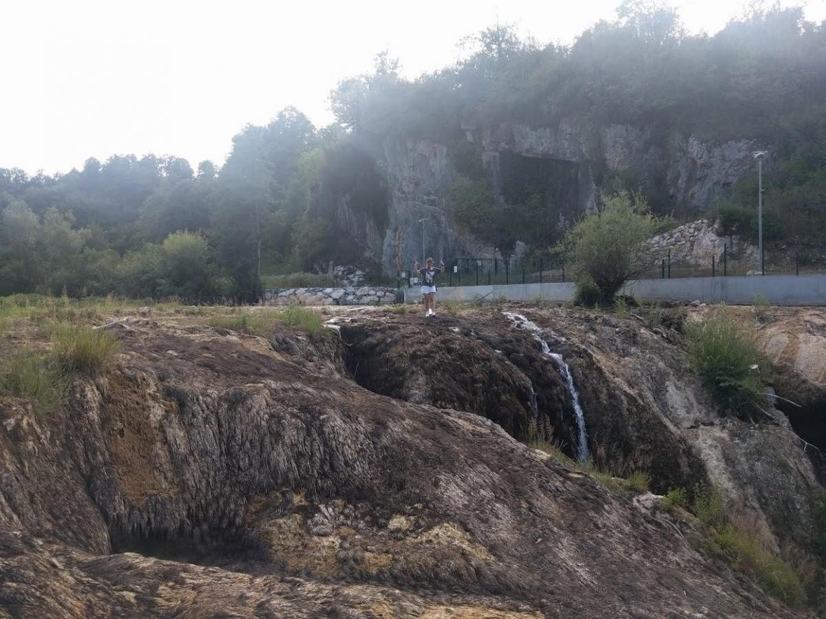 The dried out waterfall on 13 July 2017 © Tomislav Knapić