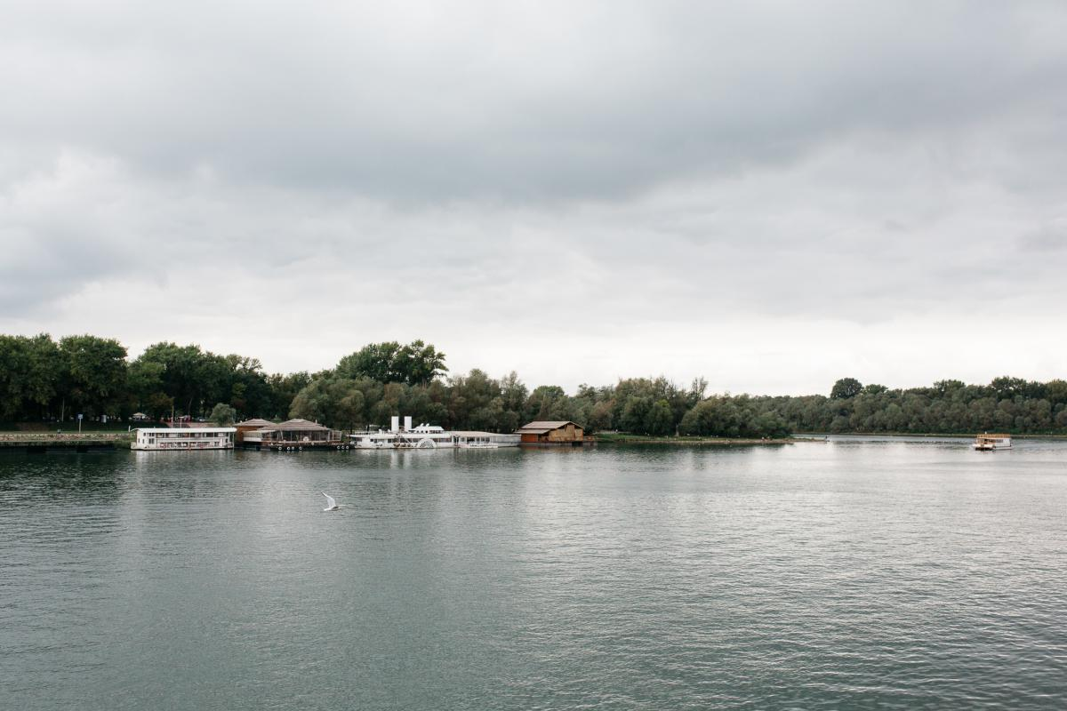 On the boat: On the last day of the event, participants enjoyed a river boat shuffle on Sava and Danube. Photo: Anze Osterman/Leeway Collective