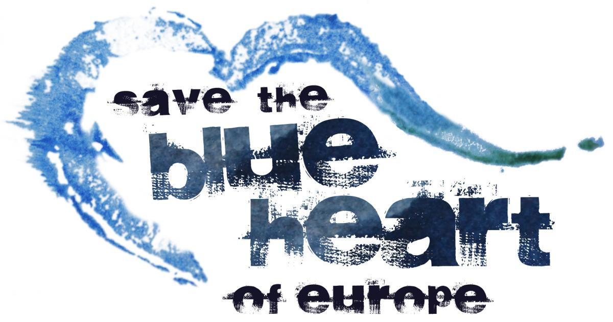 background save the blue heart of europe