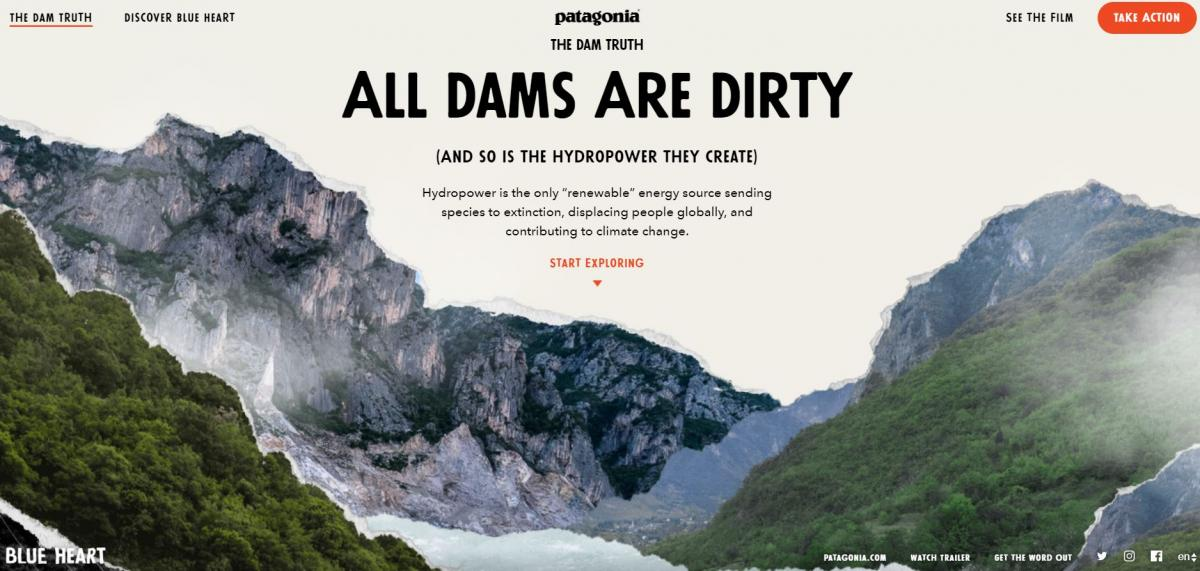 Click on the photo to learn why dams are dirty