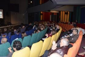 Das Publikum. Die Konferenz war gut besucht.