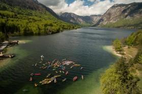 DAY 1 - A headstream of the Sava flows through Lake Bohinj in Triglav National Park