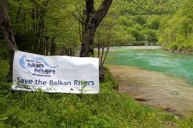 Rettet die Balkan Flüsse - keine Staudämme an der Neretva! Photo: Goran Šafarek