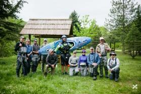 TAG 7 - Fischer und Kajakfahrer vereint gegen Staudämme