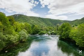 TAG 7 - Die schöne Una. Auch sie ist durch Staudämme bedroht.