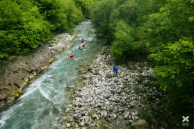 Day 14 – The upper Morača in Montenegro: wild, free and full of surprises! Six kayakers from Slovenia and Argentina had the high time of their paddling lives