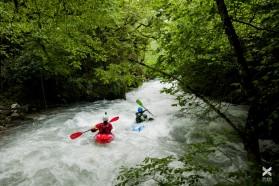 Day 20 – Mala Reka below Elen skok bridge in the Mavrovo National Park - pure joy