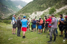 Day 32: With us at the Bence was famous Albanian singer Golik who lives near the Bence river and has been fighting against the dam plans for years.