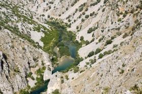 Die Zrmanja - ca. 69 Kilometer lang - ist einer der schönsten Flüsse Europas.