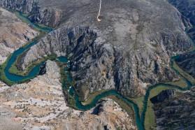 Die Krupa ist der Zufluss der Zrmanja (nicht zu verwechseln mit dem Zufluss der Neretva, welcher auch Krupa heißt).