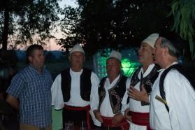 "Evening entertainment: ""Mallkastra"" Iso-polyphony group."