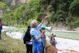 """Ulrich Eichelmann (Riverwatch), Koordinator der """"Rettet das Blaue Herz Europas"""" Kampagne."""
