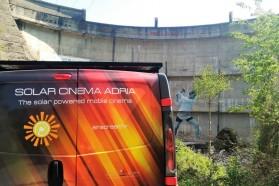 SOLAR Cinema ADRIA also facilitated the Blue Heart world premiere at the Idbar dam in Bosnia and Herzegovina.