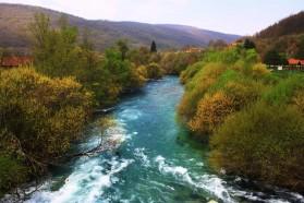 The beautiful Unac River.