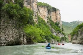 Day 26 – Osumi canyon, Albania.