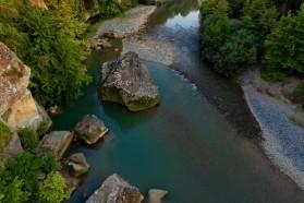 Mat River in Albania (upper reach).