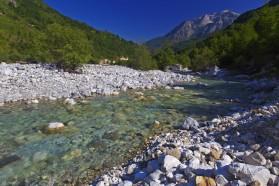 Valbona in Albanien.
